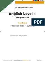 L1 - English - Writing Assessment