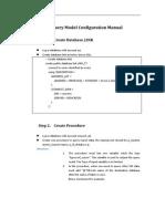 U-Report - Query Model Manual-En