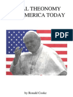 Papal Theonomy and America Today