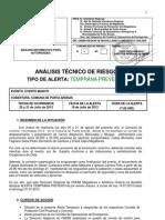 Declara Alerta Temprana Preventiva Evento Masivo Comuna de Punta Arenas
