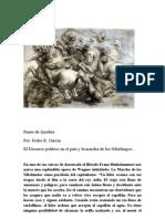 Discurso político en el país  y La Marcha de los Nibelungos