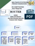 Exposicion Router