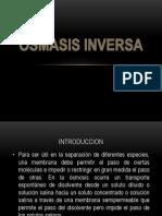 OSMASIS INVERSA