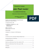 Paul Auster - Gérard de Cortanze. Dossier Paul Auster. La soledad del laberinto.pdf
