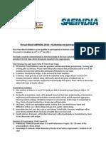 Guidelines for Virtual Baja 2013