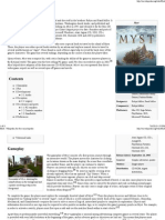 Myst - Wikipedia, The Free Encyclopedia