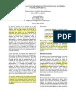 Von Bischoffshausen-Metodologia Psicoterapia Postracionalist