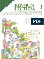 Alliende Felipe - Comprension De Lectura 1 - 7 A 9 Años