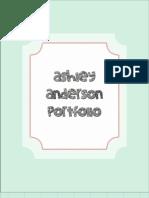Ashley Anderson Portfolio