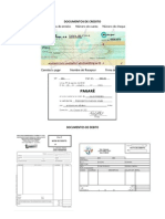 Documentos de Credito y Debito Solo Imagen