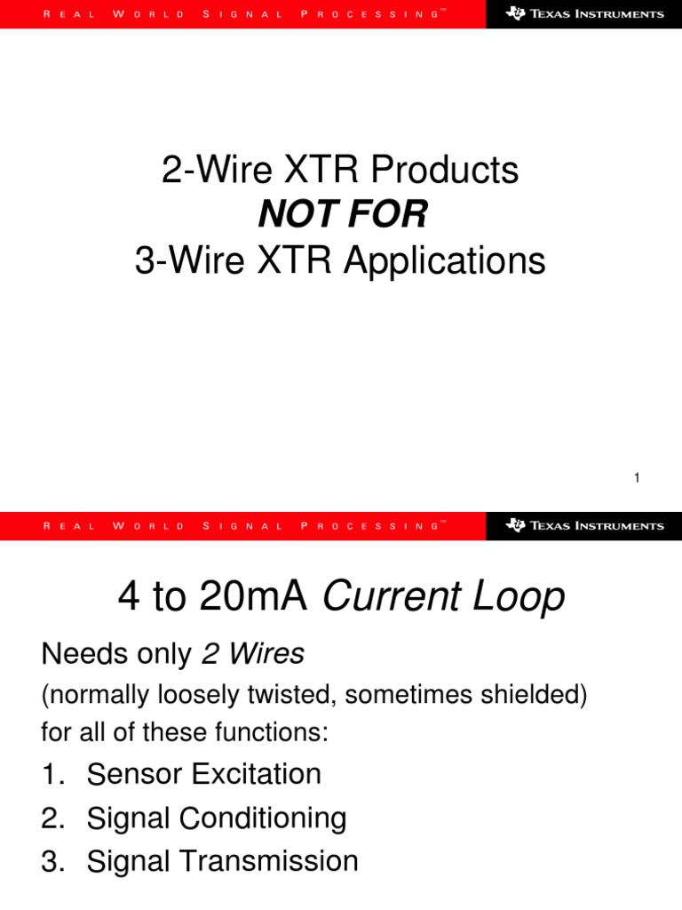 4 20ma202 320wireppt Operational Amplifier 20ma To Hart Converter On Wiring Diagram For
