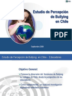Estudio Sobre Bullying en Chile(Sep 2009)