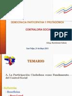 Democracia Participativa y Democratica (Control Social)