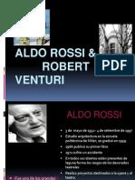 Aldo Rossi & Venturi