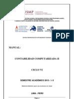 Manual Contabilidad Computarizada II - 2013 - i -II Siscont