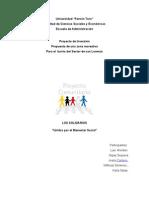 Diagnostico Proyecto Social