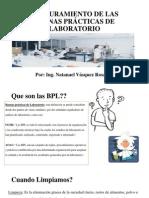 ASEGURAMIENTO DE LAS BUENAS PRÁCTICAS DE LABORATORIO
