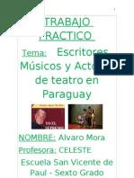 TRABAJO PRACTICO_musicos Actores y Escritores Paraguayos