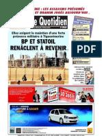 Le Quotidien d Oran Du 21.07.2013