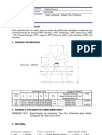 Rede Compacta - Isolador Pino Polimérico - GED 2903 - 11-11-2010