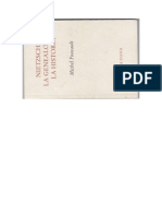 Nietzsche, La Genealogia, La Historia