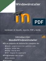 Moodle Windows Installer