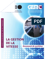 56 - Gestion Vitesse OCDE Docsynthese