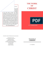 The Work of Christ- PT Forsyth