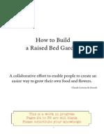 How to build raise garden beds
