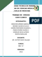 Caso Cirugia - CA. Gastrico