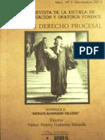 Temas en Derecho Procesal