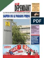 Le Jeune Independant Du 21.07.2013
