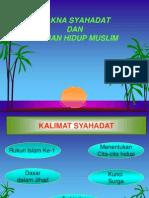 Pend. Agama Islam - Hakikat Hidup Muslim.ppt