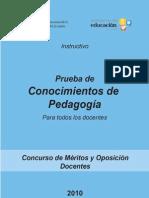 Prueba de Conocimientos_Pedagogia