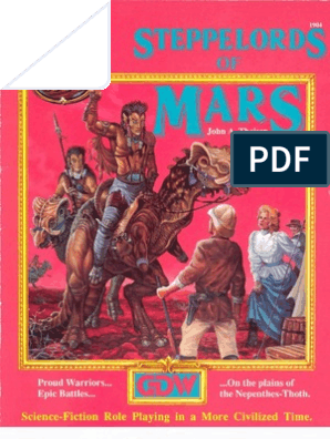 Gdw1904 Space 1889 Steppelords Of Mars Nomad Marriage