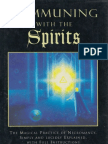 Communing With Spirits; Magical Necromancy