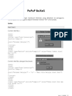 catatan popup boxes html javascript