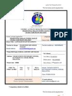 p2013 - 01 - Borang Penyertaan Untuk Para Peserta Dan Guru-guru