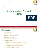 Tax Information Network (TIN) Ver 1.0
