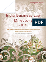 India Business Law Directory 2012-2013