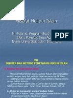 Hukum Islam Sularno Filsafat Hukum Islam 07 Sumber Metode Penetapan