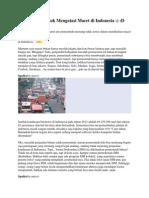 Usulan Saya Untuk Mengatasi Macet Di Indonesia- Kaskus