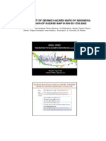 Indonesian seismic map revision 2010