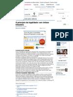O princípio da legalidade com ênfase tributária - Revista Jus Navigandi - Doutrina e Peças