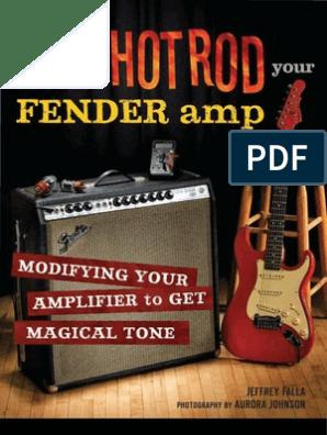 How to Hot Rod Your Fender Amp+OCR | Resistor | Soldering