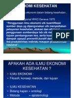 Gm 131 Slide Ekonomi Kesehatan