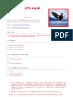 Currículo Profissional (Modelo Completo!)
