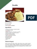Receita de Picadillo