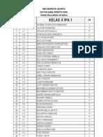 Penjurusan Kelas x 2013-2014 Final Upload