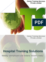 OTS Hospital Training Solution Pitch Deck